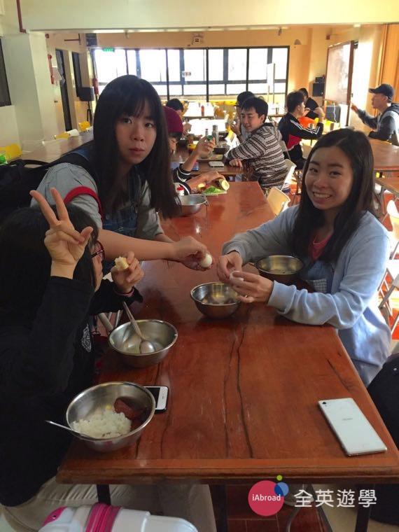 ▲ 和妹妹一起來 Monol 語言學校學英文,是很特別的體驗~