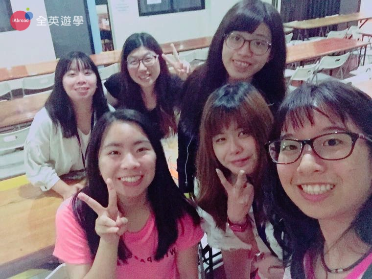 ▲ Monol校園生活,感謝全英顧問 Ann 姊姊來探訪我們!