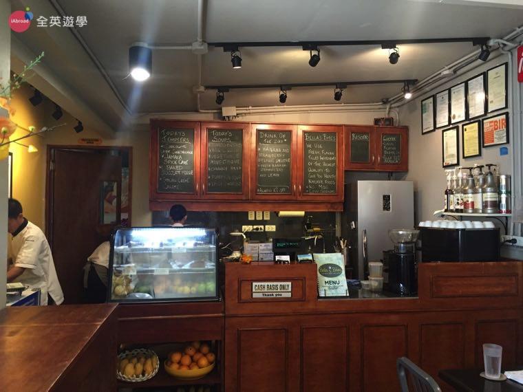 ▲ Bella's Bites 義大利餐廳有免費的 Wi-fi 可以用喔!