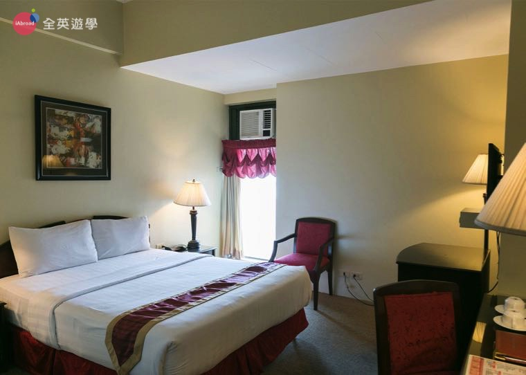 《IDEA Academia 語言學校》校外宿舍 Sarrosa Hotel 雙人房
