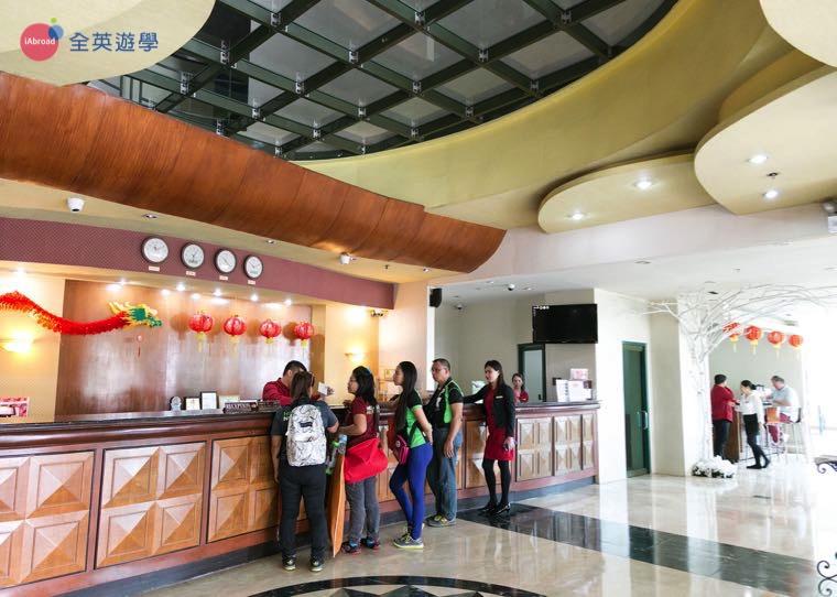 《IDEA Academia 語言學校》校外宿舍位於 Sarrosa Hotel