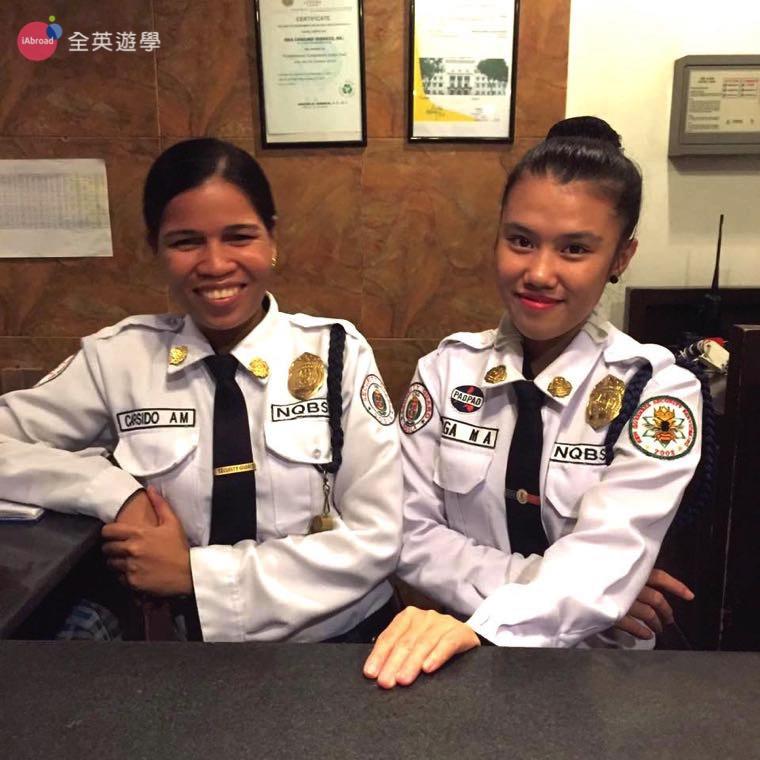 《IDEA Cebu 語言學校》有 24 小時安全警衛,保護所有師生安全