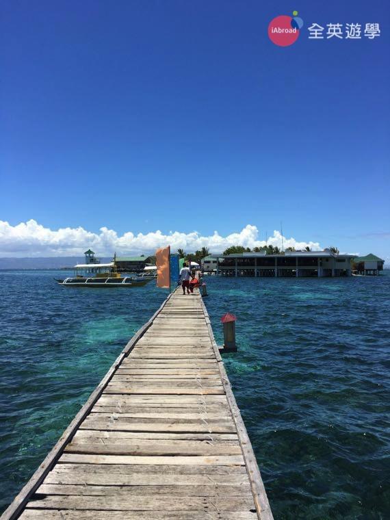 宿霧 Cebu 的藍天白雲,美景讓人放鬆!