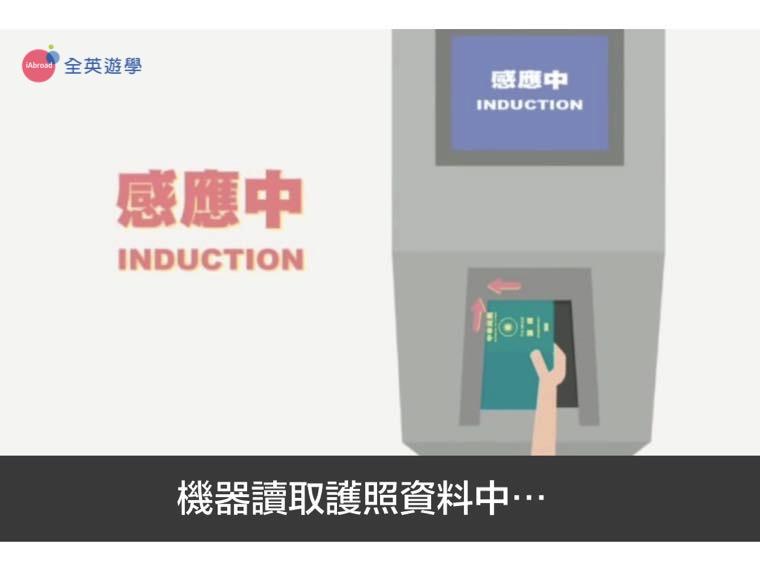 ▲ 機器會開始讀取你的個人資料~讀取成功後第一道閘門就會打開囉!