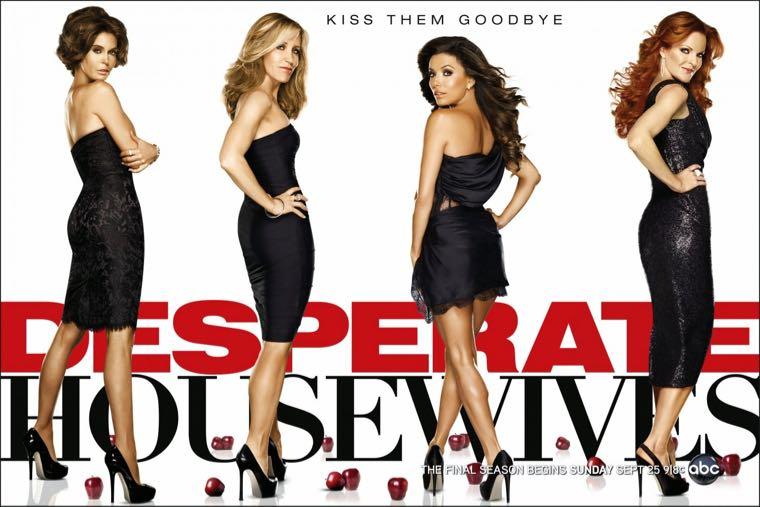 ▲ 美國影集「慾望師奶 Desperate Housewives」,看國外影集也是練習英文聽力的好方法!