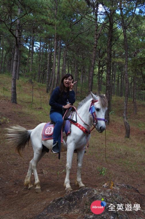 ▲ 我人生第一次騎馬就在 Camp John Hay!
