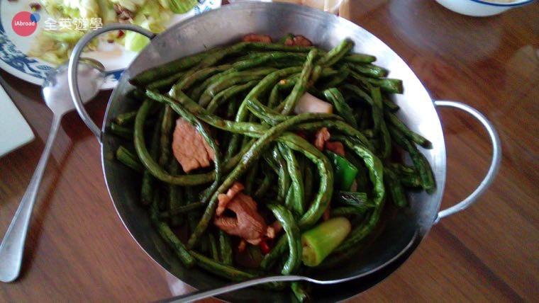 ▲ 456 餐廳的炒豌豆
