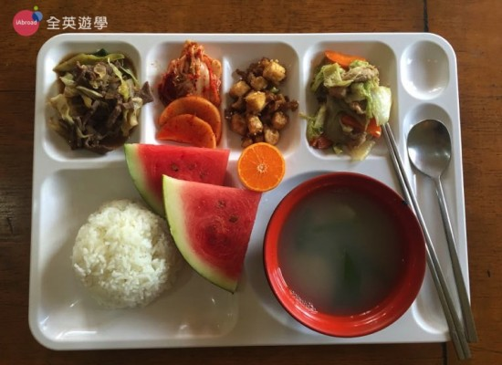 Baguio JIC 學校餐廳&三餐