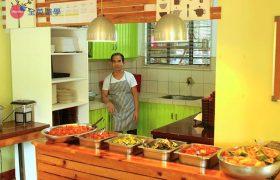 《Baguio JIC 語言學校》學生餐廳