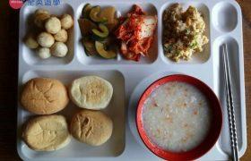 《Baguio JIC 語言學校》早餐會有吐司、麥片、稀飯、牛奶