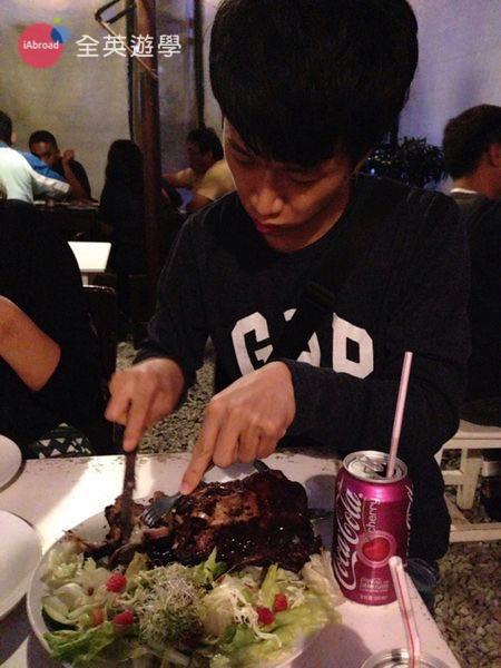 ▲ 碧瑤 Canto 餐廳的豬肋排非常好吃,值得推薦!