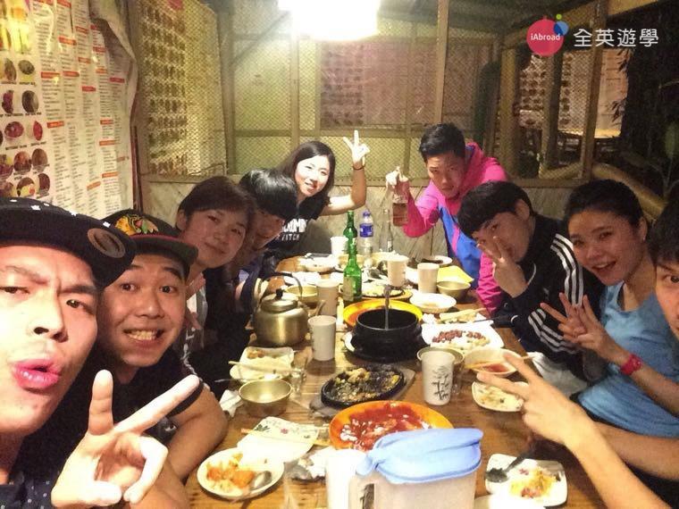 ▲ 週末把握時間和PINES朋友來吃碧瑤的韓式料理!