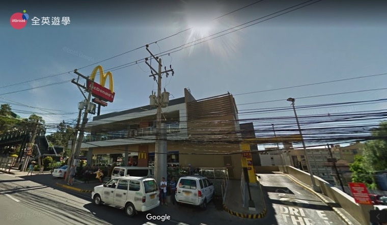 ▲ 如果吃不習慣 Jollibee 的食物,菲律賓也有麥當勞可以吃喔!