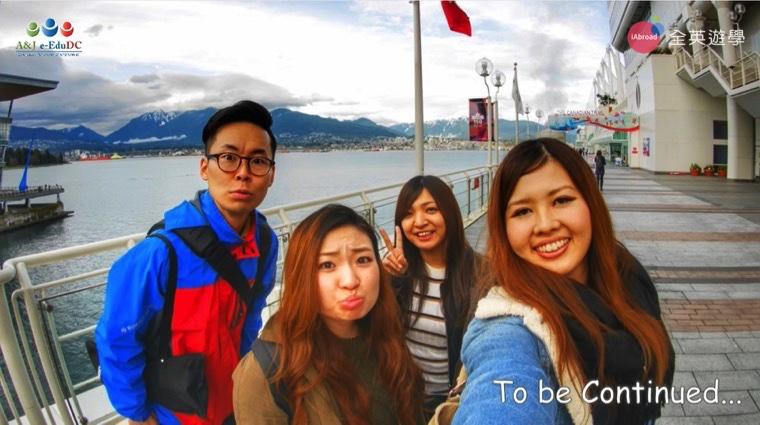 ▲ A&J 的日本經理 Joseph 專程飛到加拿大去探視 A&J 的學生們,關心他們在當地的狀況如何!