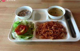 《IDEA Academia 語言學校》學生餐廳&三餐菜色