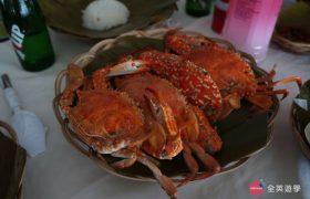 《English Fella 語言學校》週末活動,Nalusuan Island 海上餐廳,有很多海鮮可以吃!!