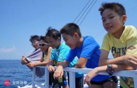 《English Fella 語言學校》週末活動,Nalusuan Island 跳島浮淺