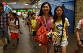 《English Fella 語言學校》週末活動,SM Mall 逛街