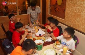全英暑期遊學團,Casa Verde 美式餐廳吃晚餐