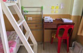 《Baguio JIC 語言學校》學生宿舍三人房