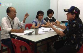 《Baguio JIC 語言學校》外師團體課