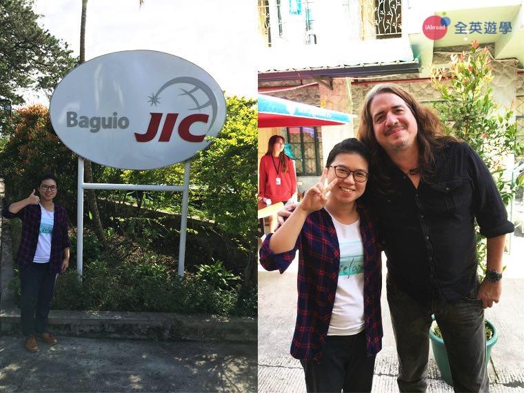 全英遊學的顧問都會定期參訪 Baguio JIC 學校,除了了解課程,也關心我們學生的學習狀況喲!