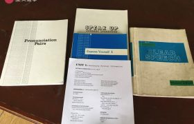 《Baguio JIC 語言學校》上課使用教材