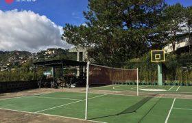 《Baguio JIC 語言學校》有羽球場&籃球場,讓學生平常可以運動,放鬆心情!