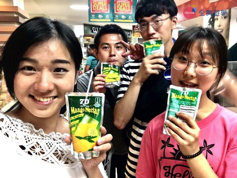 ▲ 菲律賓超市就有賣包裝芒果汁 Mango Nectar