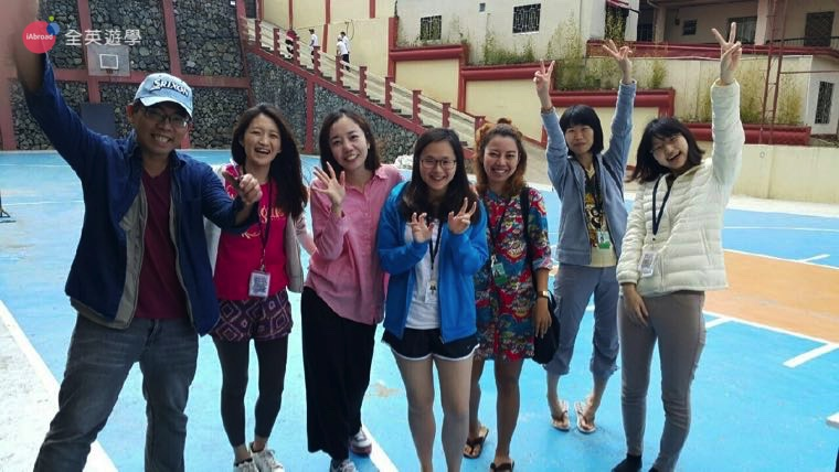 ▲ 菲律賓唸書最開心的一件事就是交到很多朋友~