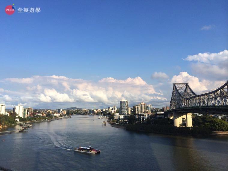 ▲ 澳洲打工度假之後我才了解英文的重要性,照片是布里斯本很有名的「故事橋 Story Bridge」