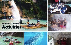Philinter 語言學校-週末活動(泛舟&Oslob 和鯨鯊游泳)