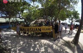 Philinter 語言學校-週末活動(Nalusuan Island 跳島)
