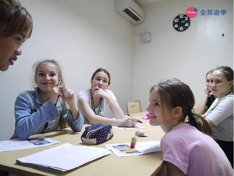 《IDEA Academia 語言學校》小班制團體課,許多來自俄羅斯的學生!