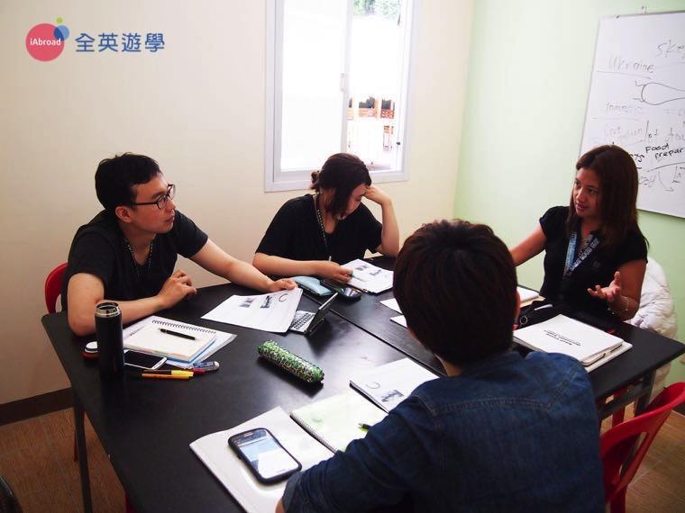 《Baguio JIC 語言學校》文法課