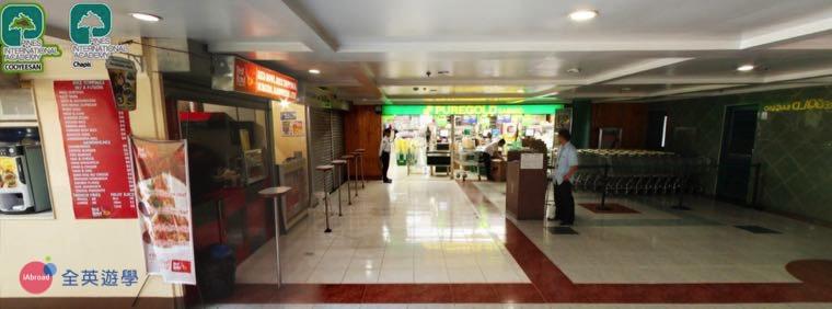 ▲ Puregold 超市就在 PINES 一樓,不用離開學校