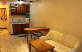 《Baguio JIC 語言學校》口說強化&雅思校區 (PSI) 學生宿舍三人房,一樓有廚房可以使用