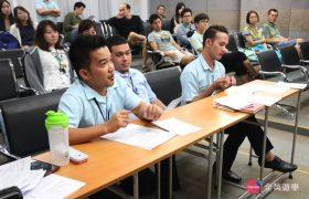 Philinter 語言學校-商業英文課程(學生用英文簡報介紹各國文化)