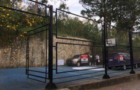 《A&J e-EduDC 語言學校》附近就有籃球場,可以來這邊打打球喔!