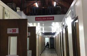 《Baguio JIC 語言學校》一對一教室走廊