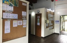 《Baguio JIC 語言學校》公告欄會有課表等重要事項公告