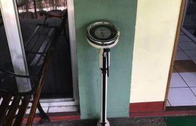 《Baguio JIC 語言學校》【口說強化&雅思校區】門口有磅秤可以秤行李喔!