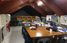 《Baguio JIC 語言學校》雅思學生專用自習室