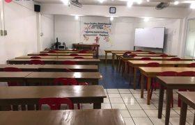 《Baguio JIC 語言學校》大團體課教室