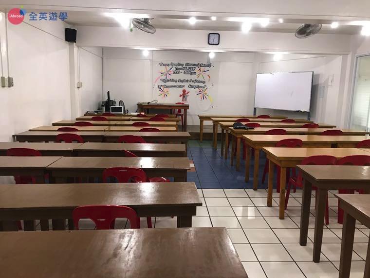 ▲大團體課教室
