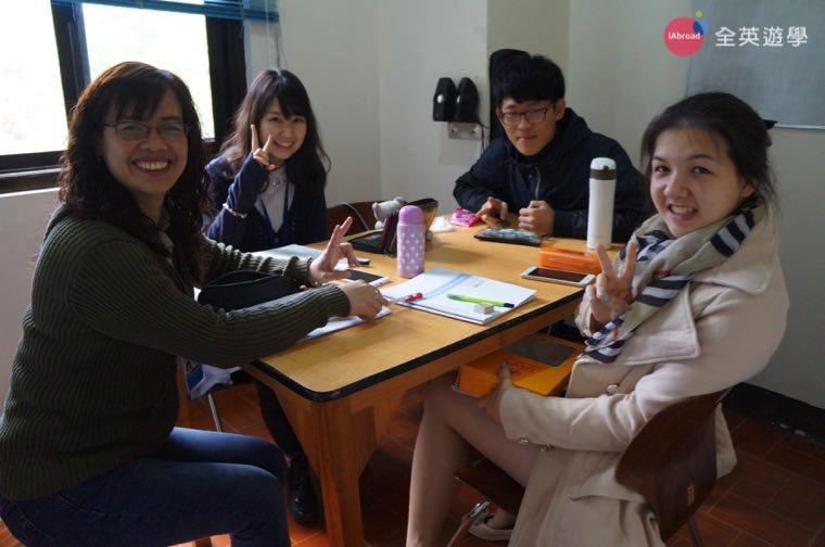 ▲ 來菲律賓碧瑤的語言學校唸英文,認識很多新朋友!