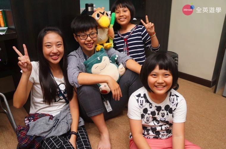 ▲ 碧瑤語言學校除了唸英文,還可以認識新朋友!