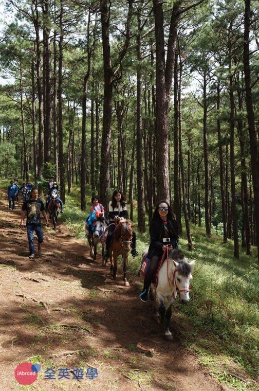 ▲ 大家一起來菲律賓 Camp John Hay 體驗森林騎馬!