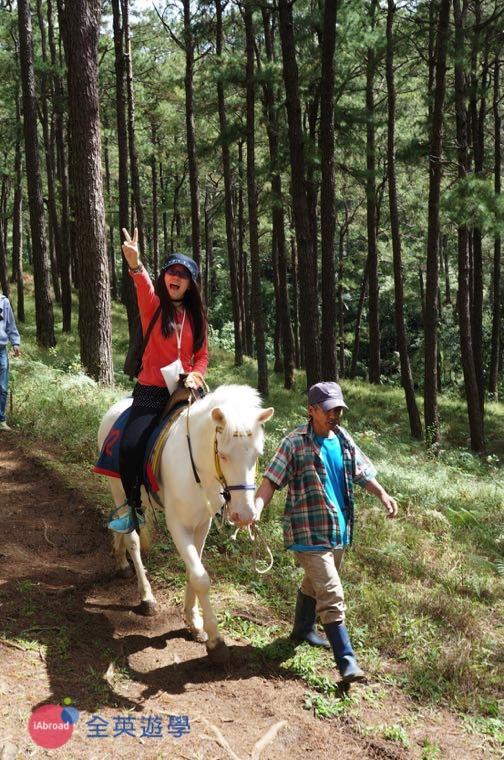 ▲ 菲律賓 Camp John Hay 森林騎馬很好玩!下次再來!
