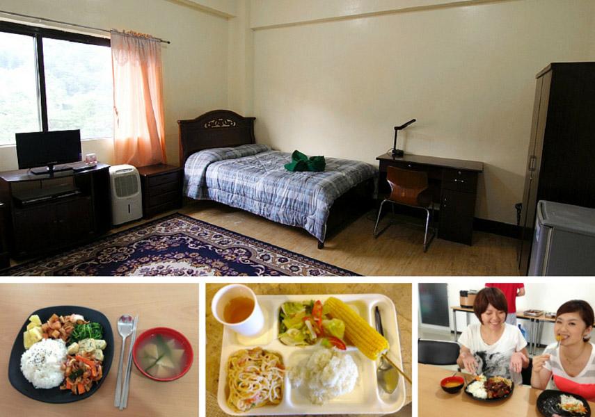 菲律賓遊學超便宜,包學費、三餐、住宿、洗衣服、打掃房間
